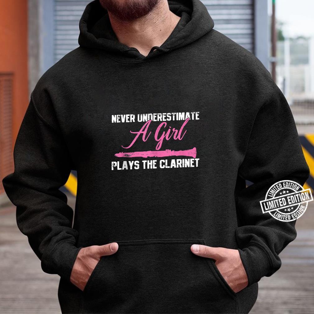 Clarinet Girl Musician Music Instrument Vintage Shirt hoodie