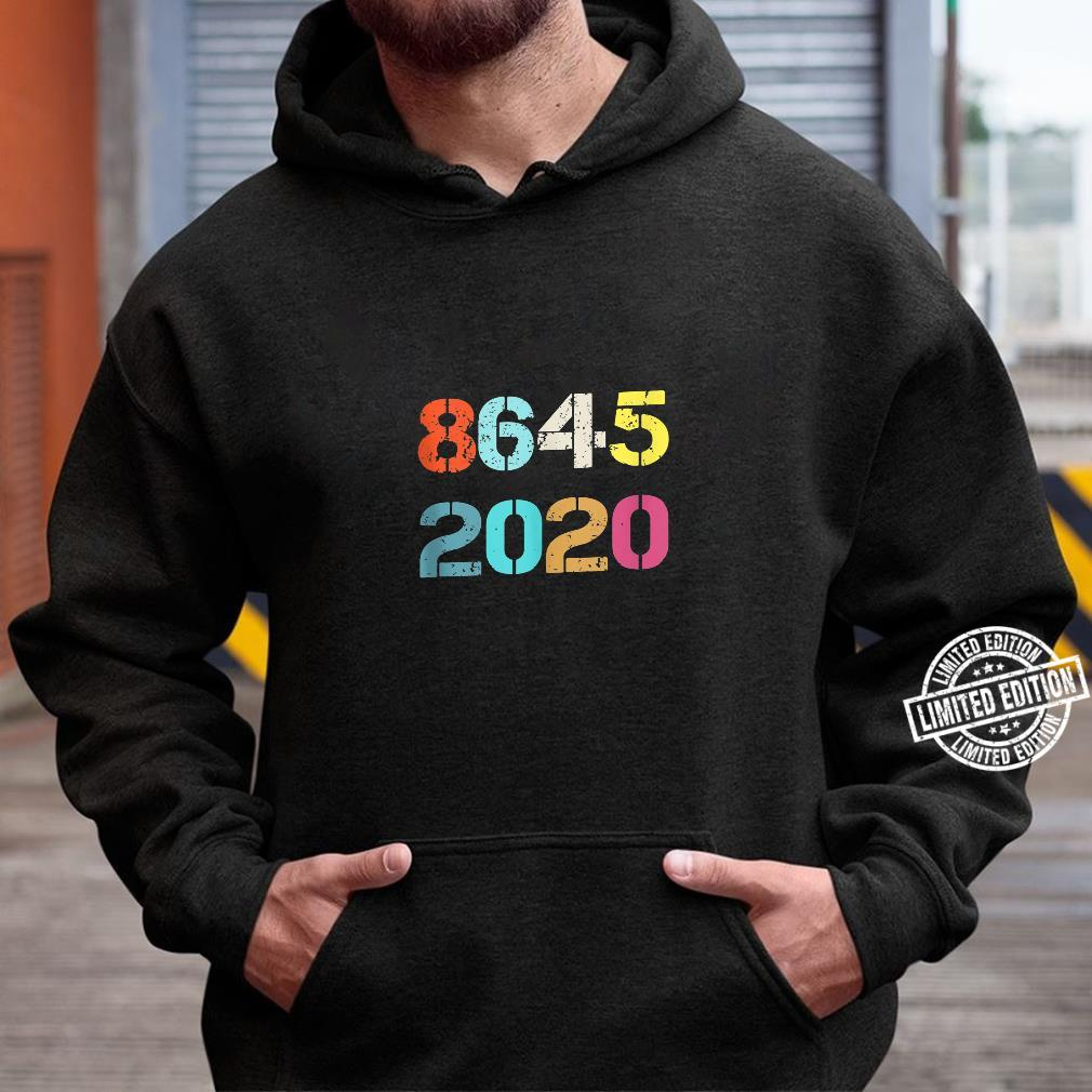 Classic vintage 8645 2020 New style Shirt hoodie