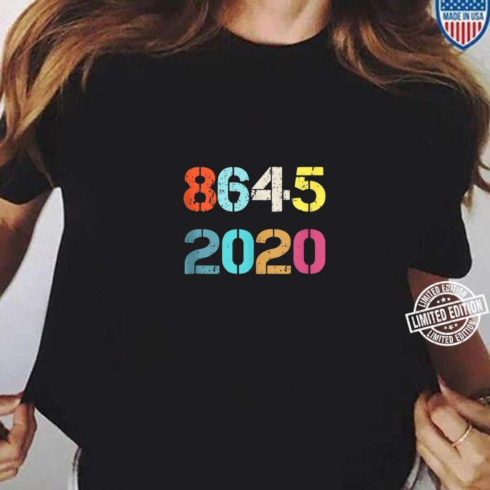 Classic vintage 8645 2020 New style Shirt ladies tee